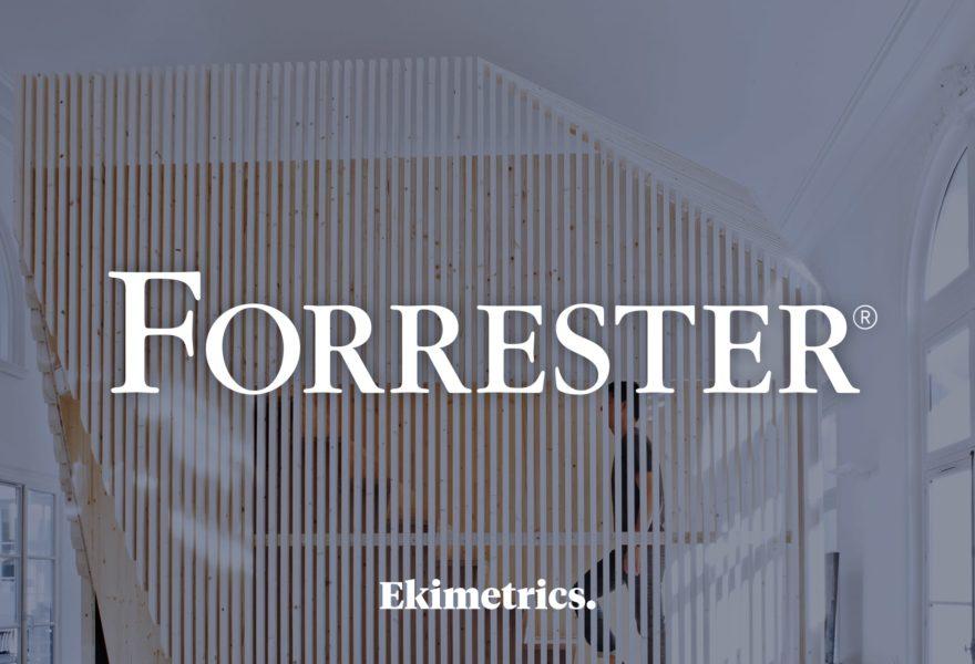 Ekimetrics nommé 'Strong performer' dans la Forrester Wave™