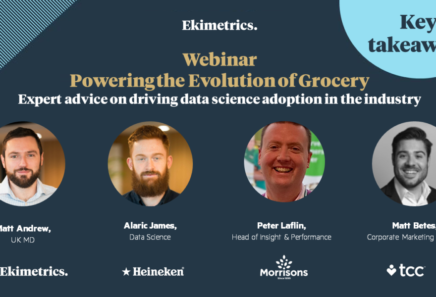 Powering the Evolution of Grocery webinar: key takeaways