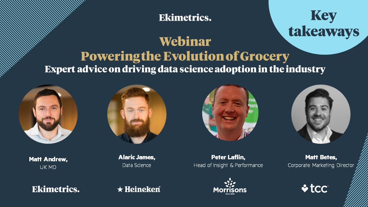 Powering the Evolution of Grocery webinar: key takeaways
