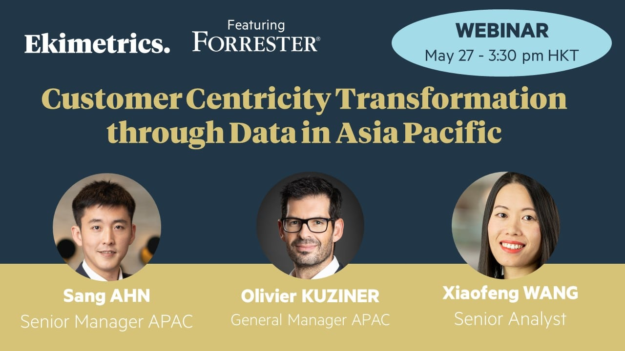 How to achieve Customer Centricity transformation through Data in Asia Pacific?